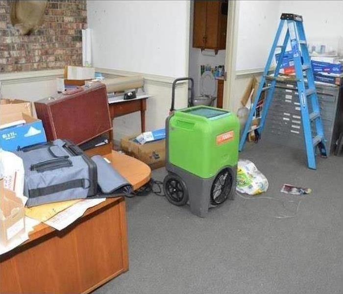 Commercial Water Damage – Pembroke Pines Office Before
