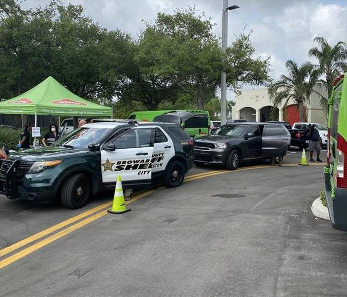 2020- Vehicle Cleaning and Sanitation for Broward County Sheriffs Dpt.