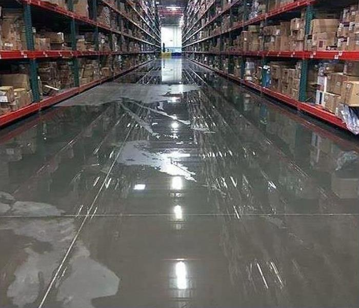 Commercial Water Damage – Pembroke Pines Warehouse